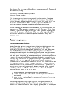 Writing A Literature Review For Dissertation Uk